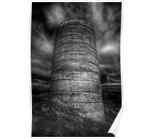 Cylindrical Gloom Poster