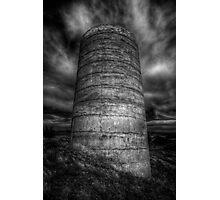 Cylindrical Gloom Photographic Print