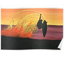 BIG AIR AT SUNSET Poster