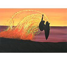 BIG AIR AT SUNSET Photographic Print