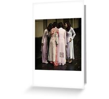 The Huddle #0101 Greeting Card