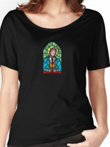 Jackson Howard - Stain Glass improved Women's Relaxed Fit T-Shirt