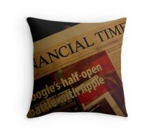 FINANCIAL TIMES Throw Pillow