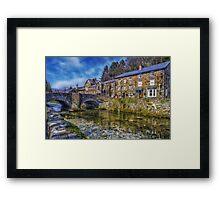 Beddgelert Village Framed Print
