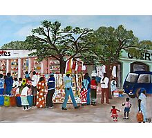 Market Day  Photographic Print