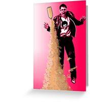 Pink Bombs Greeting Card