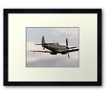 RAF WW2 Spitfire Formation Framed Print