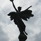 Memorial Angel in Lewes, East Sussex, UK by DJ-Stotty