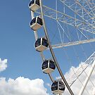 Wheel of Brisbane, Queensland Australia by DJ-Stotty