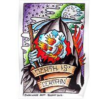 Death is Certain - art print Poster