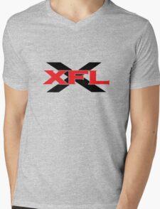 XFL T-Shirt Mens V-Neck T-Shirt