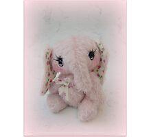 Elisha Elephant - Handmade bears from Teddy bear Orphans Photographic Print