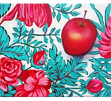 Rosy Apple Photographic Print