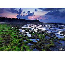 Sunset at Pantai Balangan Photographic Print