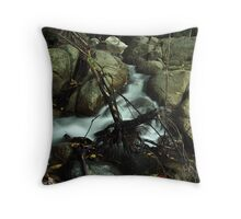 Flowing Down Throw Pillow