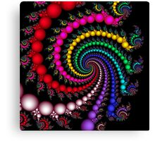 Psychedelic Spirals Canvas Print