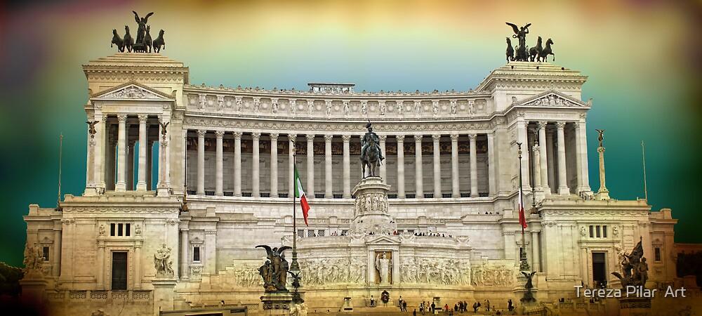 Monument to Vittorio Emanuele II . ROME by terezadelpilar~ art & architecture