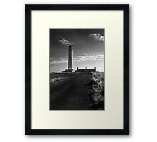 Brans Ness Lighthouse Framed Print
