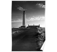 Brans Ness Lighthouse Poster