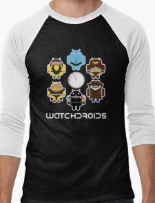 Watchdroids Men's Baseball ¾ T-Shirt