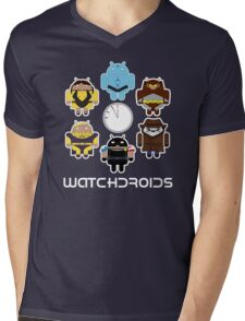 Watchdroids Mens V-Neck T-Shirt
