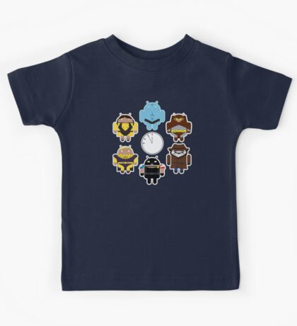 Watchdroids (no text) Kids Tee