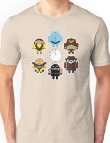 Watchdroids (no text) Unisex T-Shirt