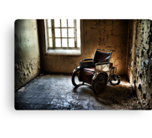 The Abandoned Wheelchair Canvas Print
