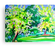Garden at Somersby Canvas Print