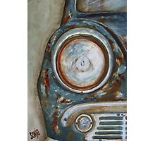 Old Rusted car III Photographic Print