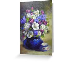 A Bunch of Flowers Greeting Card