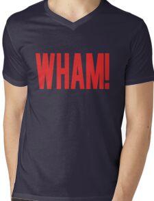 Wham! Mens V-Neck T-Shirt