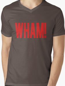 Wham! Mens V-Neck T-Shirt
