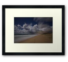 Moonlit Storm Framed Print