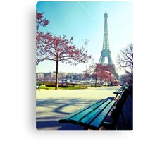 admiring Paris Canvas Print