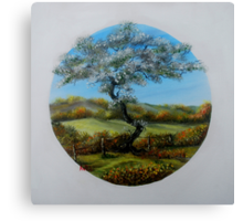 The Fairy Tree - oil paintng Canvas Print