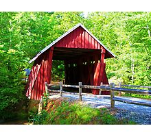 Campbell's Covered Bridge  Photographic Print