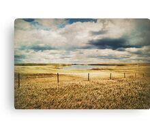 Counting Fenceposts and Moments Canvas Print