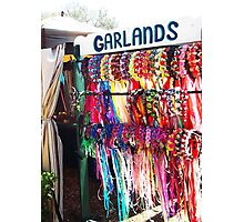Garlands at the Faire Photographic Print