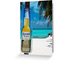 mexico beach Greeting Card