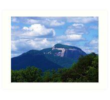 Table Rock & The Stool Mountains Art Print