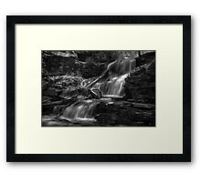 Shawnee Falls May 2011 Framed Print