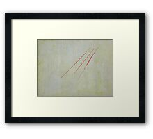 """Pierce"" Framed Print"