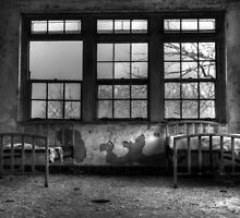 Roommates, Abandoned Hospital New England by kailani carlson