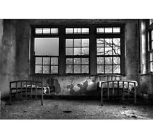 Roommates, Abandoned Hospital New England Photographic Print