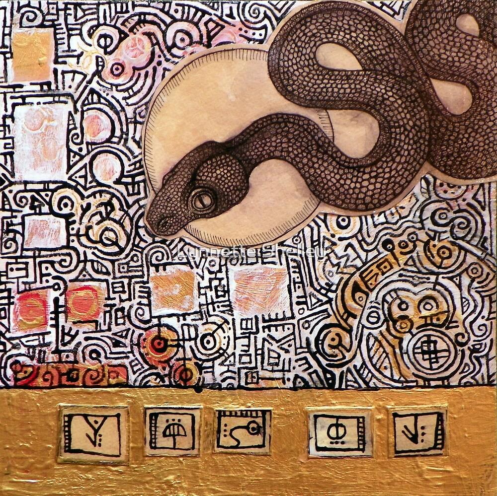 Totem V by Lynnette Shelley