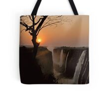 Victoria Falls Sunset Tote Bag