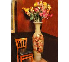 Time Out For Flowers Photographic Print