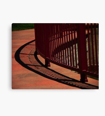 Curve Shadow Canvas Print