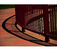 Curve Shadow Photographic Print
